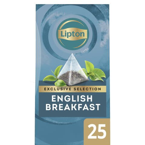 Lipton English Breakfast, pyramid 6 x 25 påsar