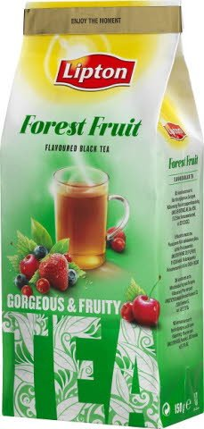 Lipton Forest Fruit Tea, löste 6 x 150 g