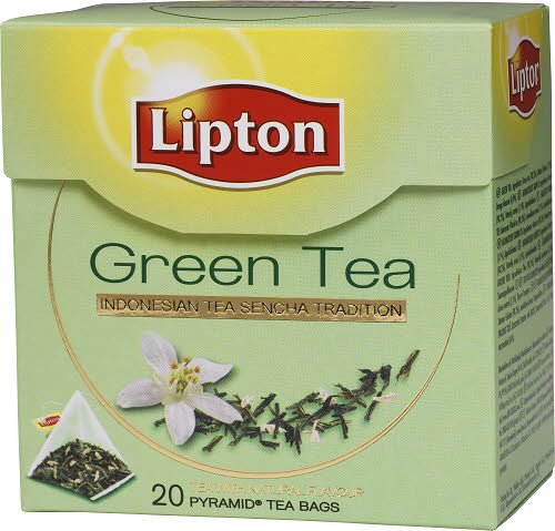 Lipton Green Tea, pyramid (utan kuvert) 12 x 20 påsar -