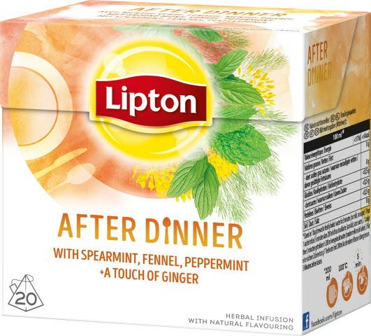 Lipton Herbal Infusion After Dinner 12x 20 påsar -