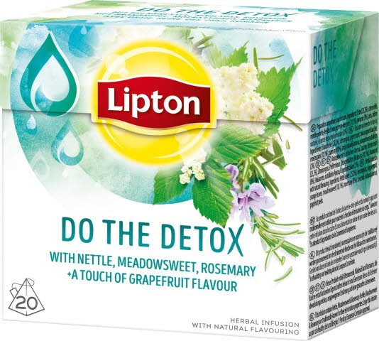Lipton Herbal Infusion Do The Detox 12x 20 påsar