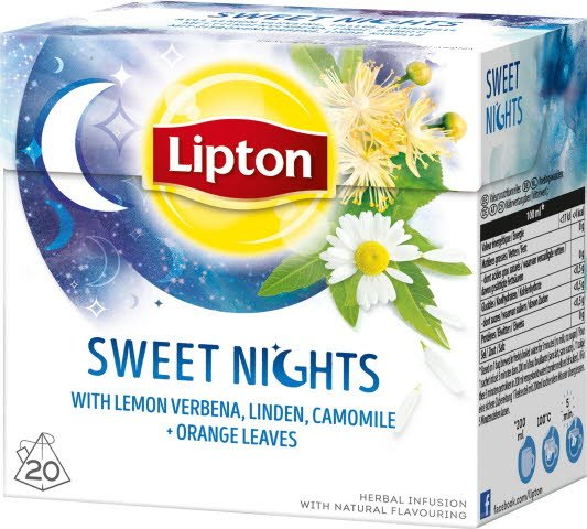 Lipton Herbal Infusion Sweet Night 12x20 påsar