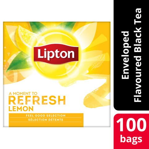 Lipton Lemon Tea 12 x 100 påsar