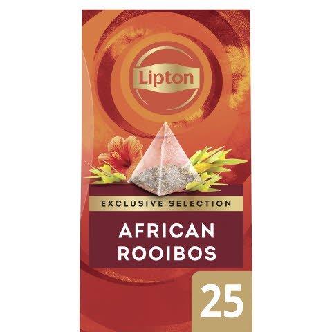 Lipton Rooibos Infusion Örtte, pyramid 6 x 25 påsar  -