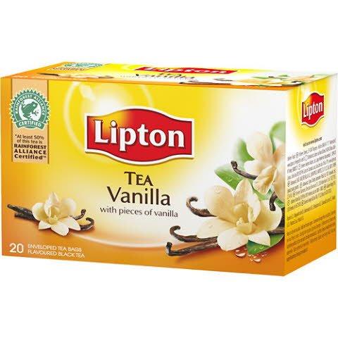 Lipton Vanilla Tea 12 x 20 påsar