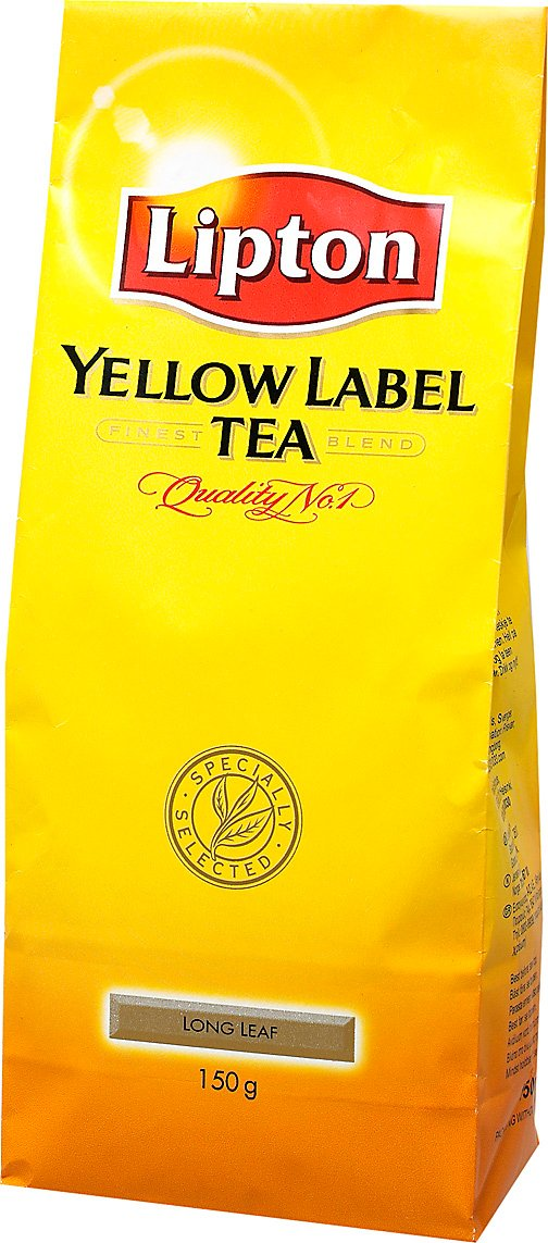 Lipton Yellow Label Tea, löste 12 x 150 g