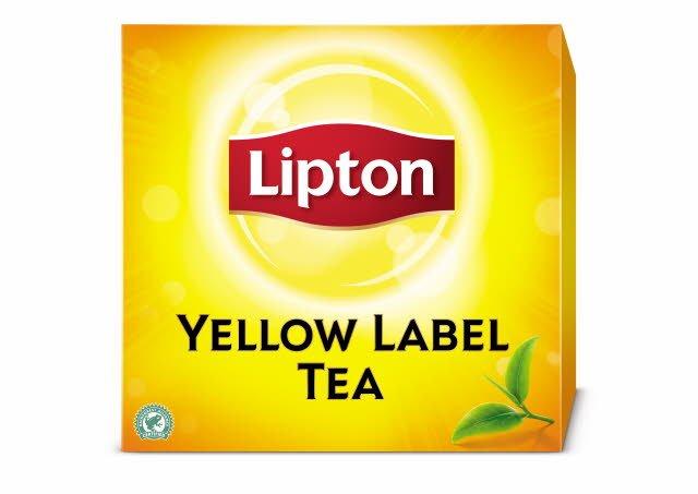 Lipton Yellow Label Tea (utan kuvert) 12 x 100 påsar