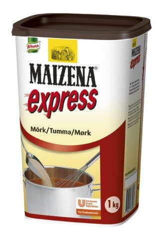 MAIZENA Express, mörk snabbredning 6 x 1 kg