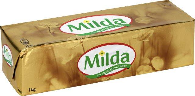 Milda Mat- och Bakmargarin 10 x 1 kg