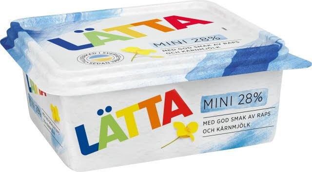 Mini LÄTTA Lättmargarin 12 x 600 g