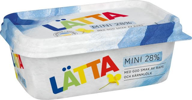 Mini LÄTTA Lättmargarin 16 x 400 g