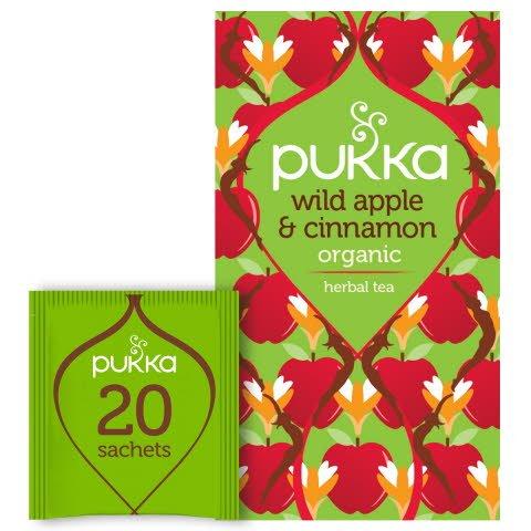 Pukka Fruktte Wild Apple & Cinnamon EKO 4 x 20 p   -