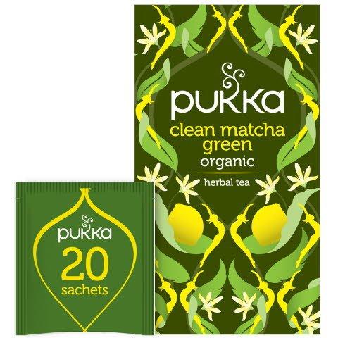 Pukka Grönt te Clean Matcha Green EKO 4 x 20 p      -