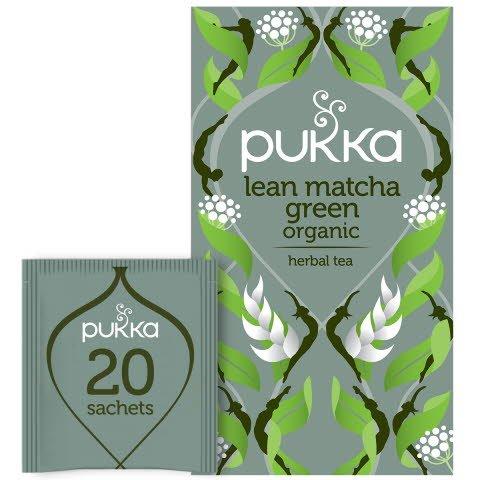 Pukka Grönt te Lean Matcha Green EKO 4 x 20 p