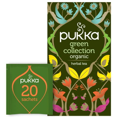 Pukka Mixask Te Green Collection EKO 4 x 20 p           -