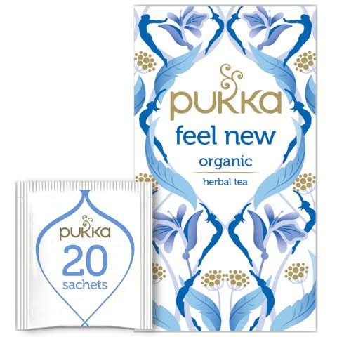 Pukka Örtte Feel new EKO 4 x 20 p        -