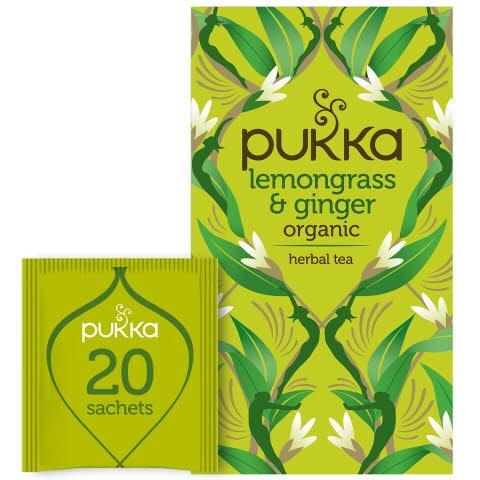 Pukka Örtte Lemongrass & Ginger EKO 4 x 20 p    -
