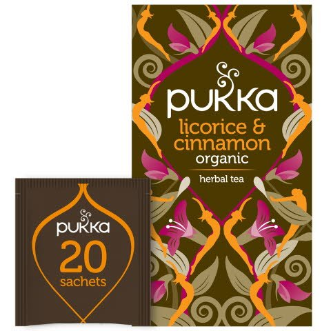 Pukka Örtte Licorice & Cinnamon EKO 4 x 20 p
