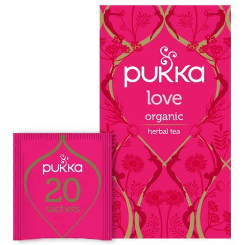 Pukka Örtte Love EKO 4 x 20 p