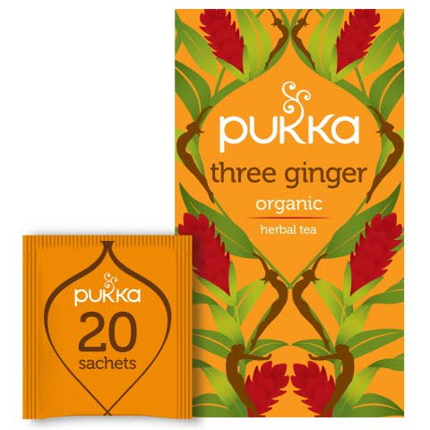 Pukka Örtte Three Ginger EKO 4 x 20 p             -