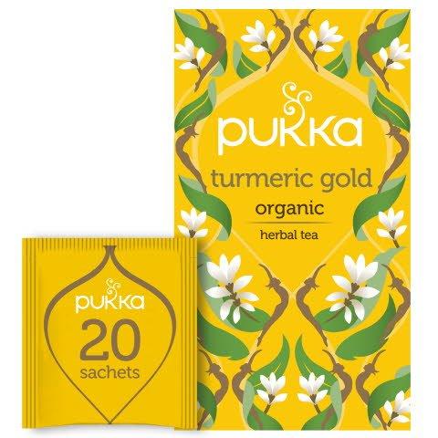 Pukka Örtte Turmeric Gold EKO 4 x 20 p
