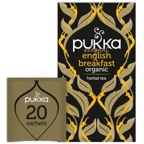 Pukka Svart te Elegant English Breakfast EKO 4 x 20 p
