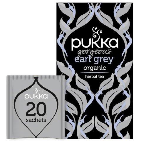 Pukka Svart Te Gorgeous Earl Grey EKO 4 x 20 p            -