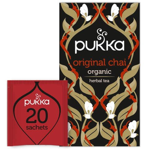 Pukka Svart Te Original Chai EKO x 20 p   -
