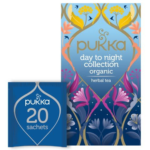 Pukka Te Mixask Day to Night Collection EKO 4 x 20 p     -