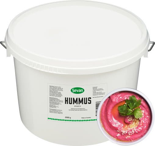 Sevan Hummus Rödbeta