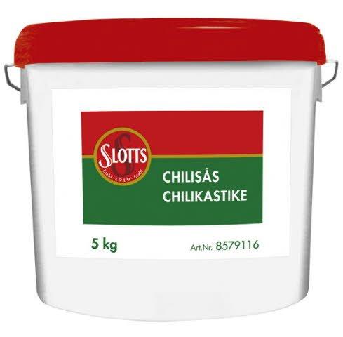 SLOTTS Chilisås Hink 1 x 5 kg