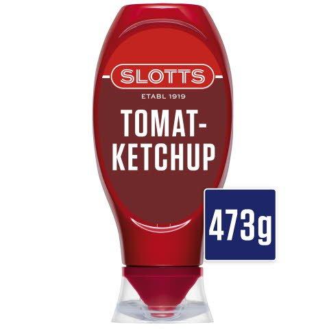 SLOTTS Ketchup Plastflaska 12 x 473 g Ersätter F89612 v 34 2016