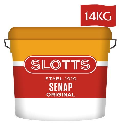 SLOTTS Senap Original 1 x 14 kg