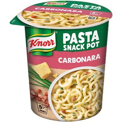 Snack Pot Carbonara, 8 x 71 g
