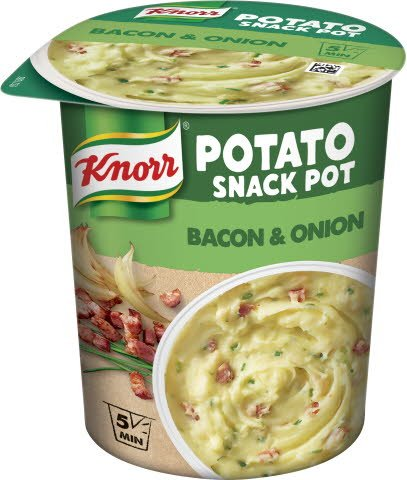 Snack Pot Mash Potato, 8 x 58 g