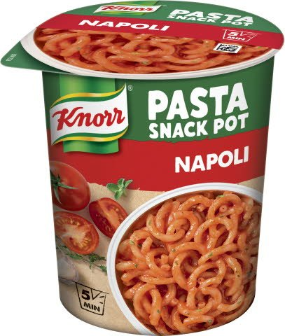 Snack Pot Napoli, 8 x 69 gr -