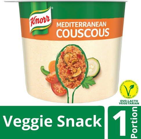 Snack Veggie Snack Mediterranean Couscous, 6 x 73 g -