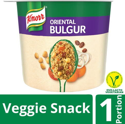 Snack Veggie Snack Oriental Bulgur, 6 x 74 g  -