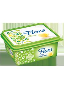 Flora Lätt Smörgåsmargarin 12 x 600 g