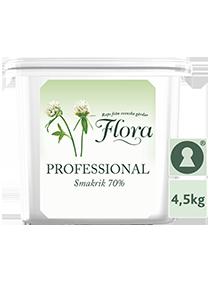 Flora Professional Smörgåsmargarin, storbytta 1 x 4,5 k