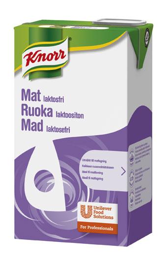 Knorr Mat 15% Laktosfri 8 x 1 L ,