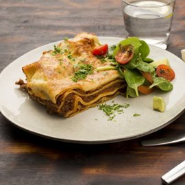 Lasagne på Cold Base