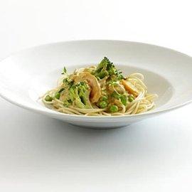 Vegetarisk currypastasås med spagetti, klimatsmart mat