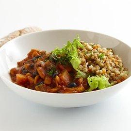 Veggie chili med matvete, klimatsmart mat