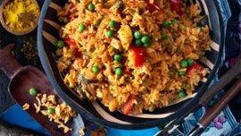 Wali wa Kukaanga – Kenyanskt stekt ris