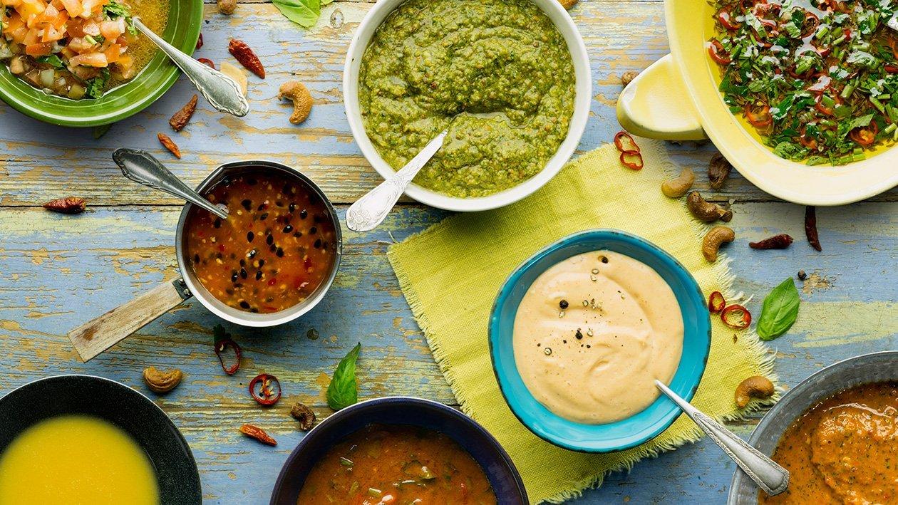 Avokado, ananas & gurk salsa