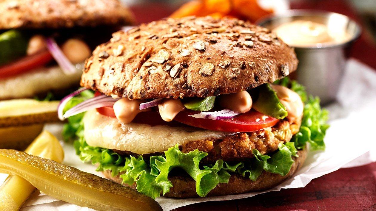 Brazilian Veggie burger
