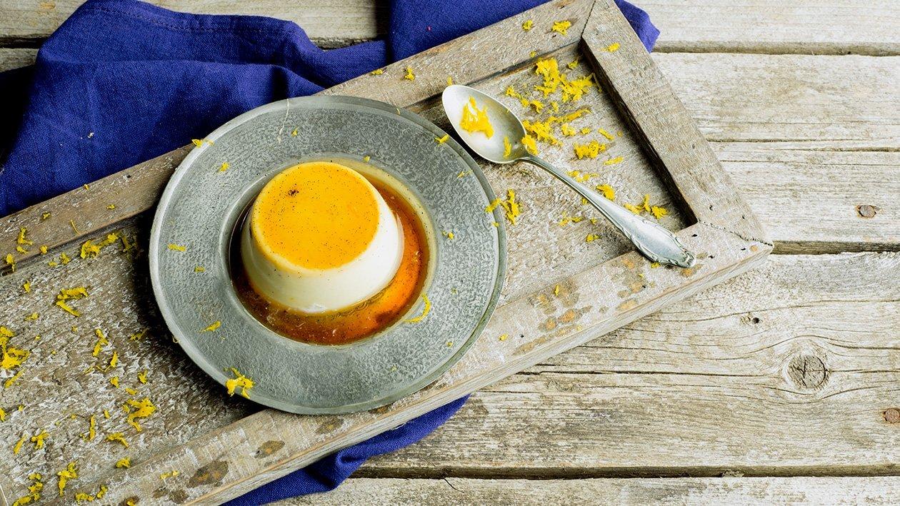 Brulépudding med apelsin