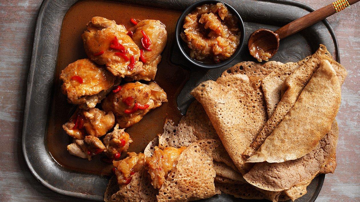 Doro Wat - Etiopisk kycklinggryta