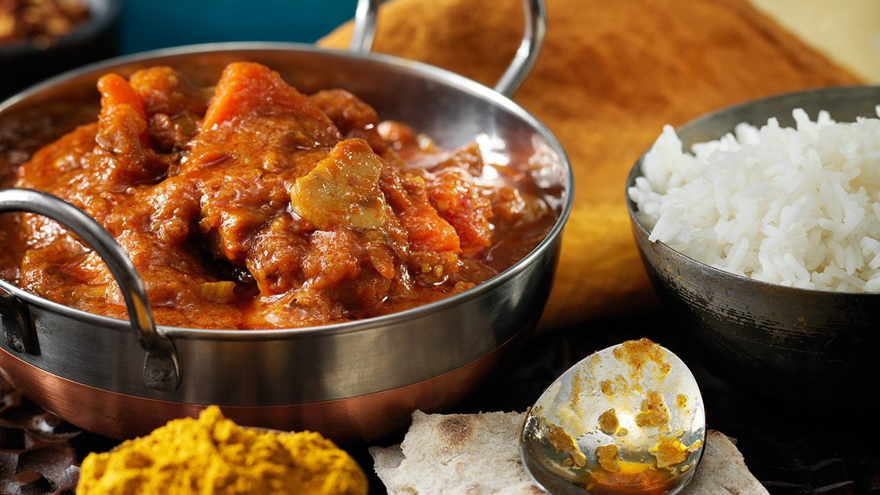 Indisk vegetarisk curry